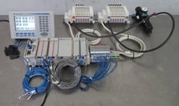 Allen-Bradley CompactLogix PLC L32E CPU, PanelView Plus 600 2711P-B6C20A