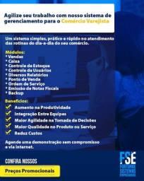 Sistema para sua Autorizada de Eletrônicos e Revenda de Componentes