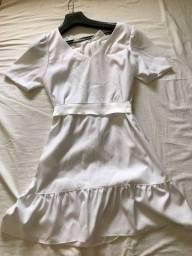 Vestido branco nunca usado