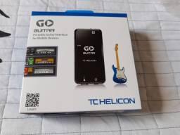 Interface de Áudio Go Guitar TC Helicon Novinha