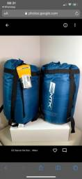 Saco De Dormir Nautika Mummy -1ºc A 8ºc - Azul+Cinza
