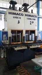 Maquina Injetora Bicolor Himaco LVSC 1200-740 120Ton