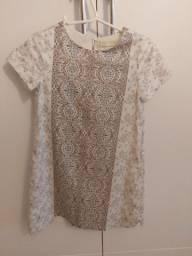 Vestido estampado infantil Zara