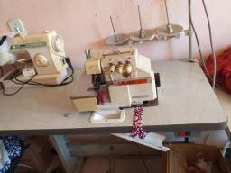 Máquina colarette industrial  e overlok  tres fio industrial