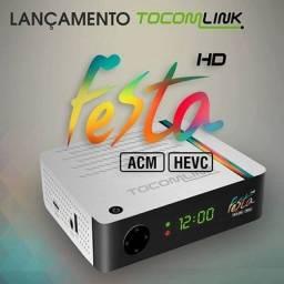 Receptor de Satélite Tocomlink HD Festa. *
