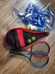 Jogo Raquetes de Tênis Artengo com Bolsa e Rede.