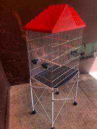 Viveiro Bragança para papagaio, calopsitas, aves em geral