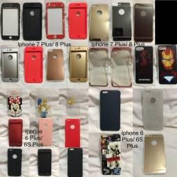 Capas para iPhones 4 ao X (10)