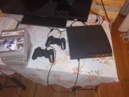 Vendo PS3 ou troco pelo notebook processador i3 HD 500