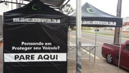 Tenda Sanfonada Personalizada