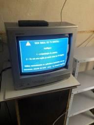 Tv turbo 14? com conversor digital