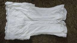 Vestido Social Curto Branco