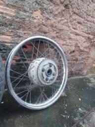 Rodas originais da fan 125