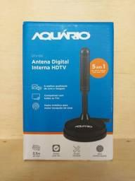 Antena Aquário DTV-100 5 em 1 - 4k