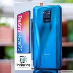 Celular Redmi Note 9S 6/128GB supera iphone 7, Samsung Galaxy A50, similar ao A71
