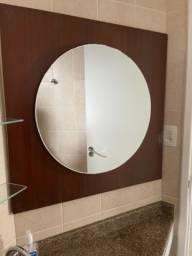 Espelhos com painel em MDF (2 unidades)