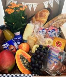 Café da manhã na caixa dia das mães!