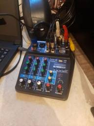 Kit estudio p/ web e fm radio yotubers