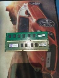 Vendo Memória DDR3 de 4 gb