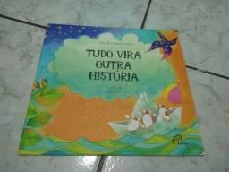 Combo com 6 livros infantis