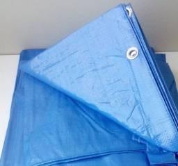 Título do anúncio:  Toldo Lona Cobertura Impermeável azul c/ ilhós