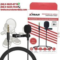 Microfone Lapela para Celular e Tablet P3 Xtrad CH0453 em são luis ma
