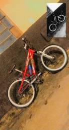 Vendo bike vikingx Warrior vermelha , Bike fina !