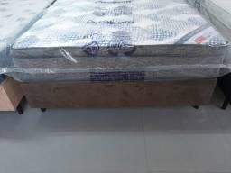 Título do anúncio: Colchão Mola Ensacada Ortobom + Box Casal - Frete Grátis