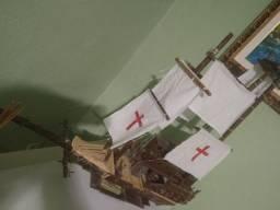 Vendo replica corsário navio