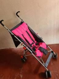 Carrinho guarda chuva Pocket Multikids Baby rosa