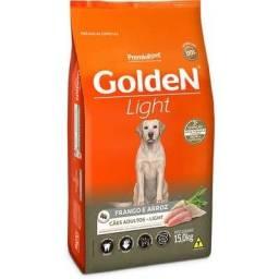 Golden Ligh sabor frango e arroz raças médias 15kg