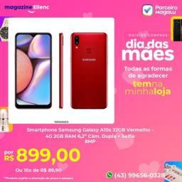 Smartphone Samsung Galaxy A10s 32GB Vermelho ( LEIA A DESCRIÇÃO )