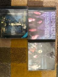 Cds Deep Purple e Black Sabbath