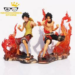 Action Figure One Piece Luffy e Ace