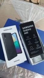 Samsung A02 32GB NOVOS Lacrados Aceito Cartão de crédito