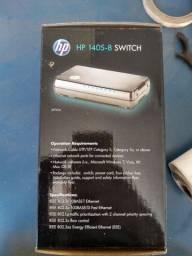 Switch HP não gerenciável 8 portas - modelo 1405 -8