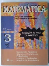 Matemática 3 Resolução Bonjorno