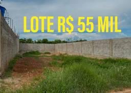 Ágio lote  São Tomé - R$ 55 mil