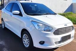 Ford KA Sedan + 1.0 - SE - Completo - Financio 100% - Impecável !!!