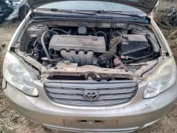 Corolla automático completo 2006 pra revendas de peças
