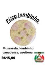Pizza pré assada artesanal
