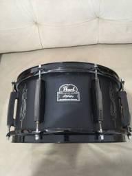 Caixa pearl Signature joey jordison 13x6 black Steel