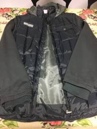 Jaqueta cinza tamanho 14