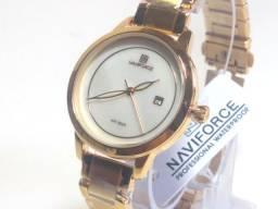 Relógio Feminino Analógico Novo e Original Naviforce