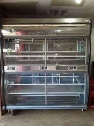 Balcão refrigerador para carne