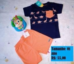 vendo roupa infantil
