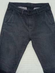 Calça preta 40 Luigi Bertolli