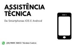 Assistência técnica especializada em smartphones.