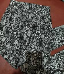 2 calças de elastano
