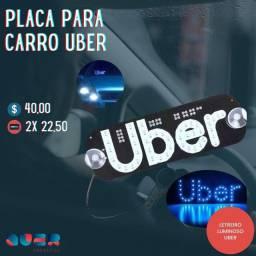 Placa de LED para UBER PROMOÇÃO IMPERDÍVEL !!!